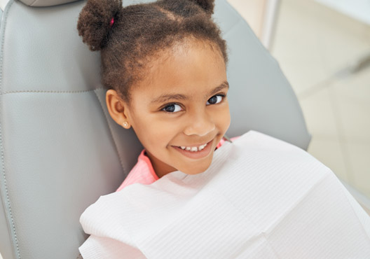 charming afro american girl dentist